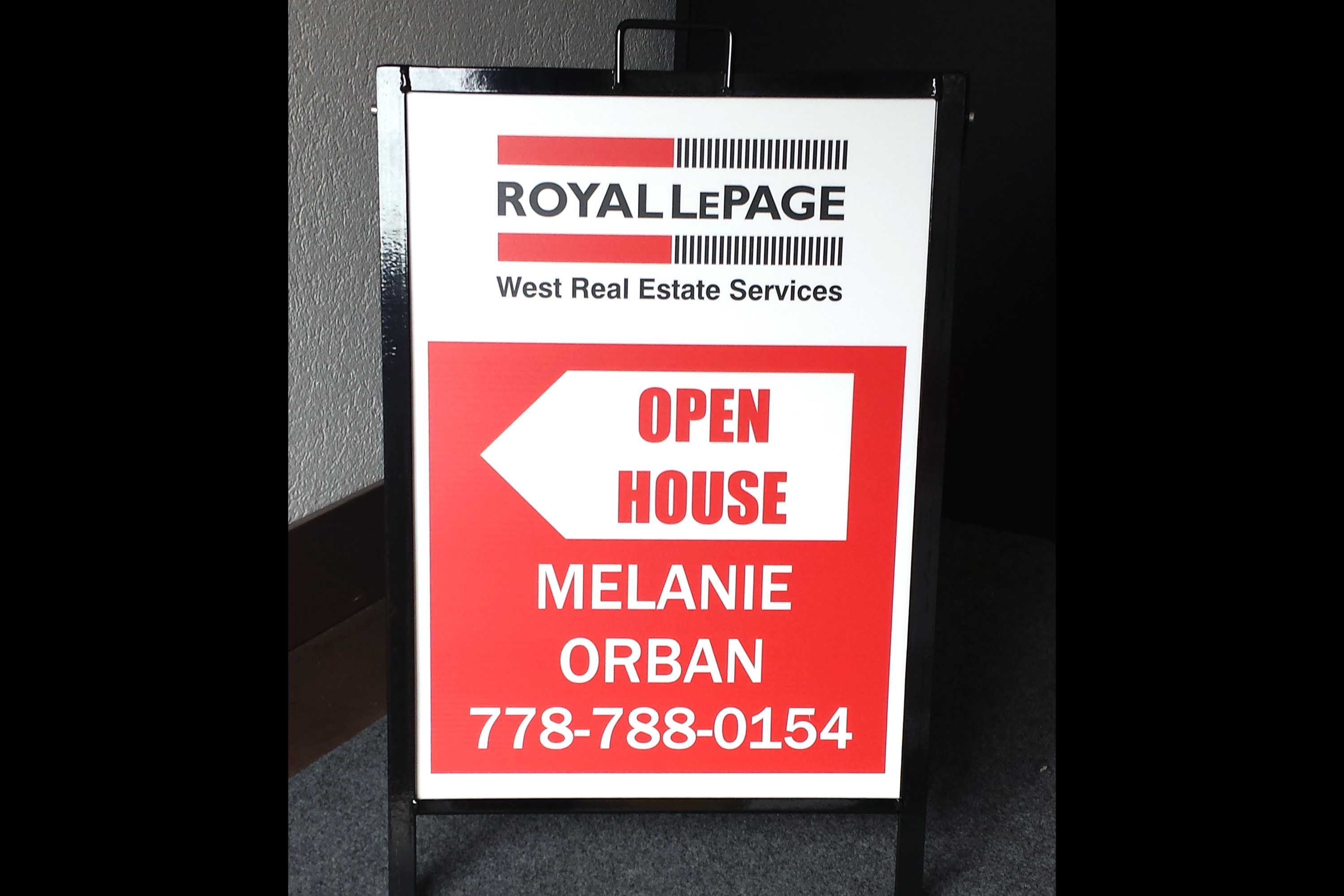 Realty Signs - For Sale, Open House, Fast Graphix, Vancouver